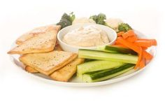Hummus and veggies. Photo Credit msheldrake/iStock/Getty Images