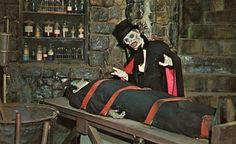 Universal Tour on the set of The Munsters