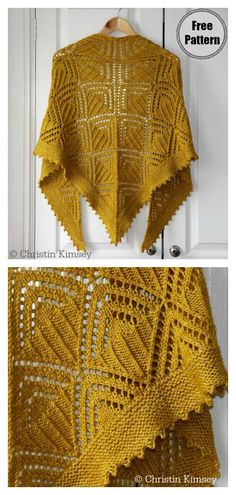 Rumpelstiltskin Shawl Free Knitting Pattern Looking for knitting accessory projects for the cold nights? Try this Rumpelstiltskin Shawl Free Knitting Pattern with extra textures. Crochet Pattern Free, Knitting Patterns Free, Knit Patterns, Knit Crochet, Knitted Baby, Crochet Shawl, Diy Couture, How To Start Knitting, Knitting Accessories