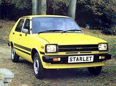 Toyota Starlet 5-door (1980 – 1984).