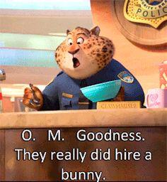 Oficer Judy Hopps Departamentu Policji Zootopia