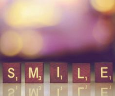 to smile