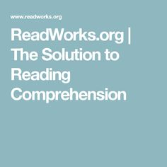 This website would help teachers with articles and ways to help teacher reading to their students. Critique: I think this website is a good and helpful website. 3rd Grade Reading Comprehension Worksheets, Reading Resources, Reading Skills, Teaching Reading, Homeschooling Resources, Science Articles, Classroom Tools, Teaching Technology, Teaching Social Studies