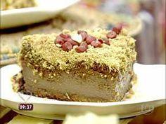 Torta de Amendoim - Foto de Mais Você na TV