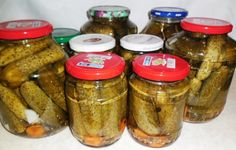 Preserves, Pickles, Entrees, Cucumber, Diy And Crafts, Mason Jars, Canning, Recipes, Food