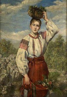 Українське народне вбрання — Вікіпедія