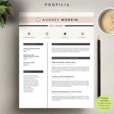 Aqua Tear Drops  In  Word Resume By Inkpower On MywpthemesXyz