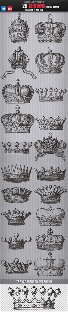 Crowns to examine
