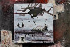 mano kellner, collage 20x20 cm, vogelliebe