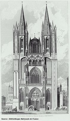 http://en.wikipedia.org/wiki/Coutances_Cathedral