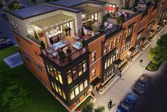 New-homes-for-sale-Knutson-townhomes-Brambleton-rooftop-terraces