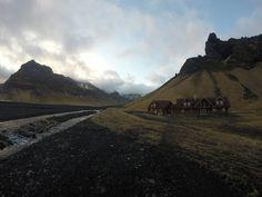 V takomto hoteli sme strávili noc na Islande