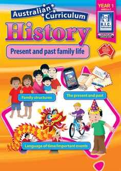 Australian Curriculum History - Year 1 - R. Publications - Australian Curriculum History - Year 1 is a book linked to the requirements of the Australian National Curriculum. History Activities, History Education, History Teachers, Science Resources, Teaching History, Teacher Resources, Physical Education, Australia School, Primary History