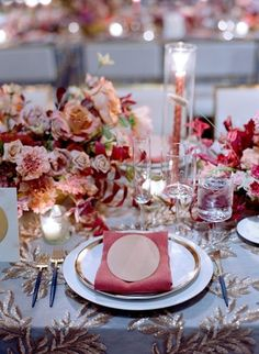 A terra-cotta and taupe inspired Fall wedding. | 44 more photos on PartySlate