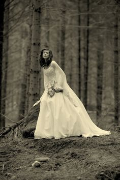 Celtic Wedding Dress from Lindsay Fleming - Rhiannon.
