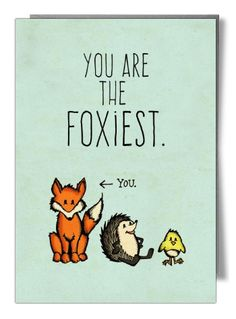 You are the foxiest - Card by Tami Boyce