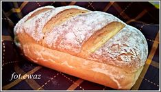 Chleb pszenny na drożdżach Polish Recipes, Hot Dog Buns, Food And Drink, Cooking, Watercolor, Kitchen, Pen And Wash, Watercolor Painting, Polish Food Recipes