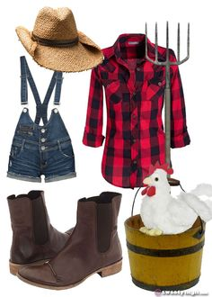 girl farmer costume - Google Search