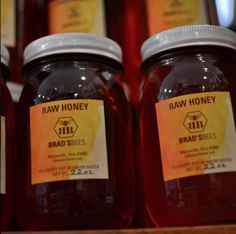 Fall allergies? Local honey can be great for treating them! Try some Brads Bees from Marysville, Ohio!