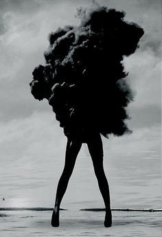 Design Work Life - The Dark Arts - Smoke - Lost - Woman