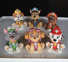 Paw patrol toppers
