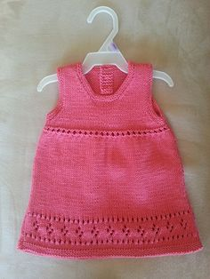 Ravelry: Project Gallery for Evangeline Dress - Baby Cakes by Little Cupcakes - Bc38 pattern by Lisa Craig
