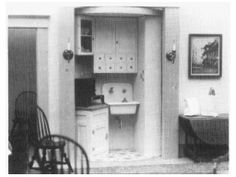 Helen Dorsett (1989). The Lazy Susan Apartment. Complete plans, patterns, and instructions for building a 1920s efficiency apartment and furnishings. In TSC 13: 2 and 13:3 and the Cabinetmaker's Guide, volume 7. The project has be rereleased as a stand alone publication by Dorsett Publications and is available from dpllconline.com.