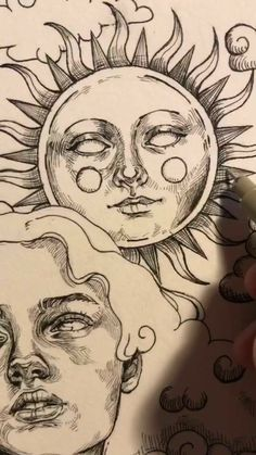 Cool Art Drawings, Art Drawings Sketches, Random Drawings, Tattoo Drawings, Indie Drawings, Aesthetic Drawings, Pencil Art Drawings, Art Tattoos, Tattoo Sketches