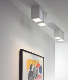 Astro Lighting 5686 Osca 140 Adjustable Square Surface Mounted Ceiling Cube Downlight in White Interior Lighting, Lighting Design, House Lighting, Kitchen Lighting, Lighting Ideas, Besties, Astro Lighting, Kitchen Surface, Houses