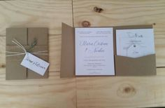 Vintage Invitations, Place Cards, Place Card Holders