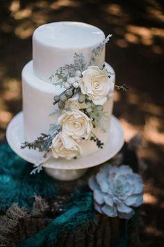 Dusty blue wedding inspiration - Love4Wed