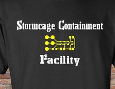 Stormcage Containment Facility Shirt - Inspired by Dr Who