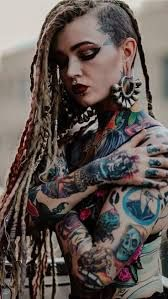 Pin on Tattoo/Hair/Piercing Exotic Girls Hot Tattoos, Body Art Tattoos, Girl Tattoos, Tattoos For Women, Hot Tattoo Girls, Tattoed Girls, Inked Girls, Tattoed Women, Piercings