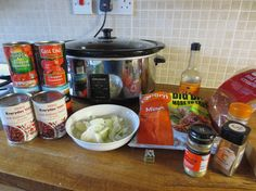 I love my slow cooker so much I have two!  A small and large Morphy Richards.  They're brilliant for making healthy hearty meals that we can...