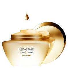 Kerastase Elixir Ultime Masque Restore vitality and a healthy shine to dull, damaged hair with this Elixir Ultime Cataplasme Masque. With a deep infusion of precious oils, this masque is infused with rich nourishment and enriched with oils that work to Kerastase Elixir Ultime, Camellia Oil, Best Masks, Dull Hair, Hair Serum, Hair Masque, Luxury Hair, Moisturize Hair, Damaged Hair