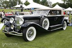1936 Duesenberg Model J Convertible Sedan by Murphy Duesenberg Car, Vintage Cars, Antique Cars, Classy Cars, Vintage Handbags, Hot Cars, Exotic Cars, Luxury Cars, Dream Cars