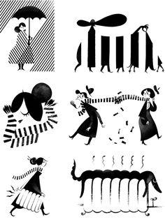 New Yorker Spots pt.1 - Roman Muradov