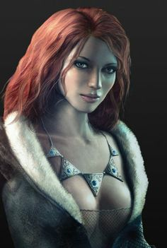 "Triss Marigold from ""The Witcher"""