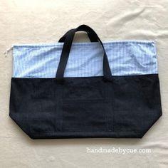 巾着付きビッグトートバッグはぬいぐるみ収納から旅行まで使えて便利!作り方を詳しく紹介 | ハンドメイドで楽しく子育て handmadeby.cue