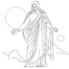 Free Printable Jesus Coloring Pages For Kids Jesus Jesus