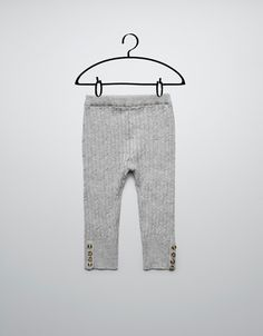 knitted leggings - Trousers - Baby girl (3-36 months) - Kids - ZARA United States