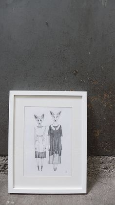 Foxes In Lila Foxes, Frame, Shopping, Home Decor, Drawing Rooms, Picture Frame, Decoration Home, Room Decor, Frames