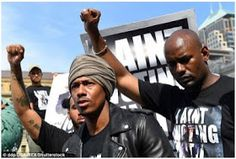 Welcome to Solenzo blog: Nick Cannon leads Black Lives Matters protest outside RNC in Cleveland