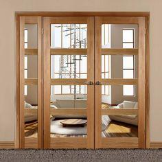 Easi-Frame Oak Door Set, GOSHA4L-COEOP11L, 2005mm Height, 1889mm Wide. #internaldoors #xljoinerydoors #easiframesoak