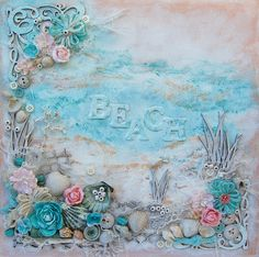 Ingrid's place: Beach -canvas-