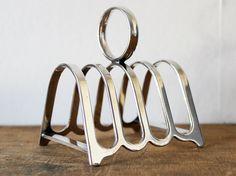 Silver Toast Rack / Holder Letter Sorter - EPNS Silver plated. £14.99, via Etsy.