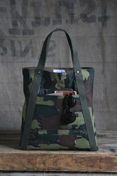 1950's era Jigsaw Camo Utility Tote - Special Edition! - FORESTBOUND