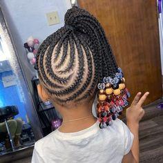 Little Girl Braid Styles, Little Girl Braids, Kid Braid Styles, Braids For Kids, Toddler Braids, Kid Braids, Hair Styles, Girls Braids, Black Kids Braids Hairstyles
