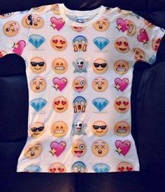 Emoji T Shirt by bratlife on Etsy