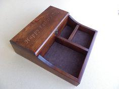 Wooden Watch Box, Wooden Boxes, Wooden Organizer, Handmade Accessories, Father Photo, Best Gifts, Organization, Watches, Storage